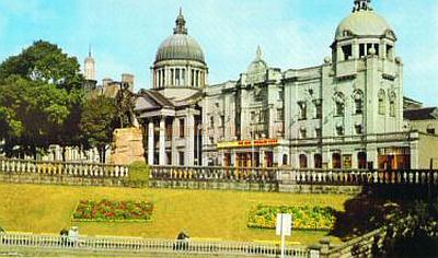 A Colour Postcard of His Majesty's Theatre, Aberdeen.