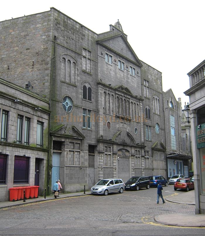 The former Palace Theatre, Aberdeen in a photograph taken in 2011 - Courtesy KR