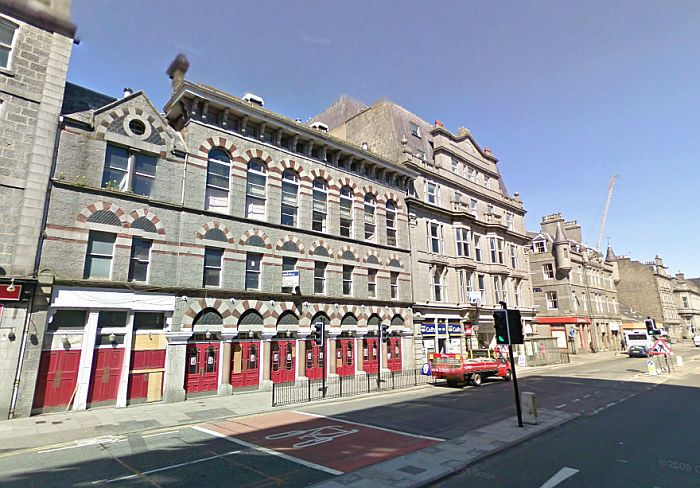 A Google StreetView Image of the Tivoli Theatre, Aberdeen - Click to Interact