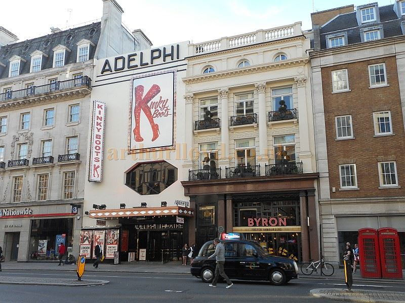 The Adelphi Theatre during the run of 'Kinky Boots' in September 2015 - Photo M.L.