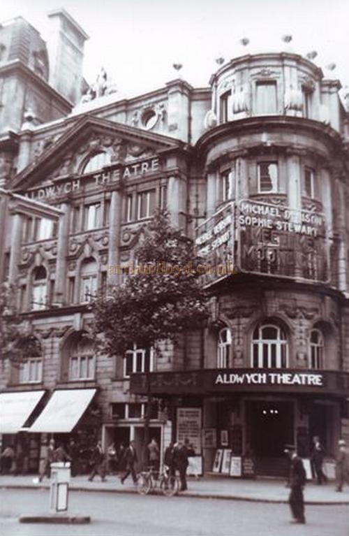 The Aldwych Theatre during the run of 'Meet Me by Moonlight' in the 1950s - Courtesy Gerry Atkins