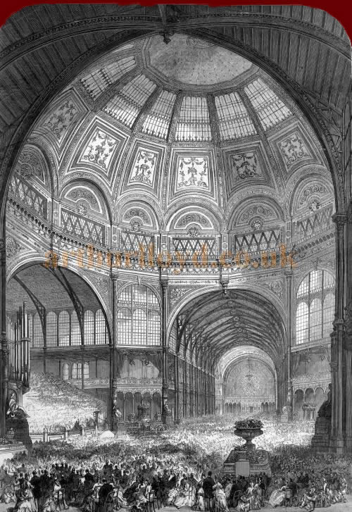 The opening of the Alexandra Palace - From the Illustrated London News, 31st of May 1873.