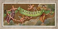 An alhambra programme for 1897 - Click to see entire programme.