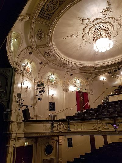 The Auditorium of the Ambassadors Theatre in May 2018 - Photo M.L.