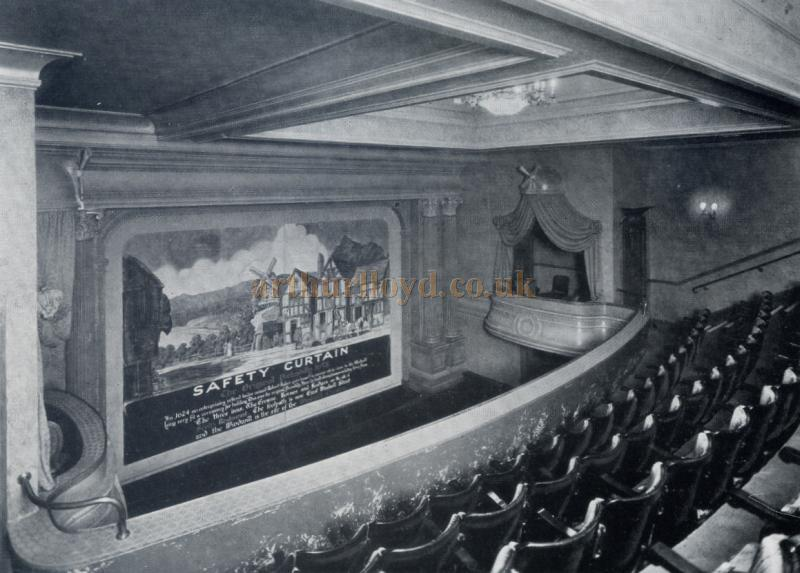 The auditorium of the Windmill Theatre in its original 1930s guise as a playhouse - Courtesy the Jill