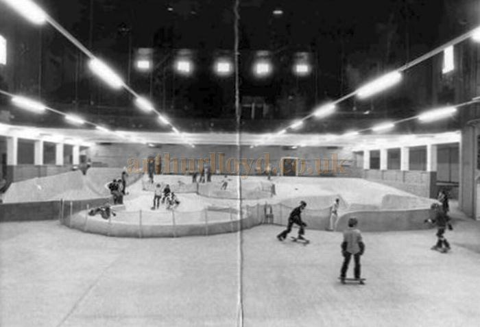 The former Astoria Old Kent Road whilst in the guise of the Mad Dog Bowl skating park - Courtesy Alan Griffiths