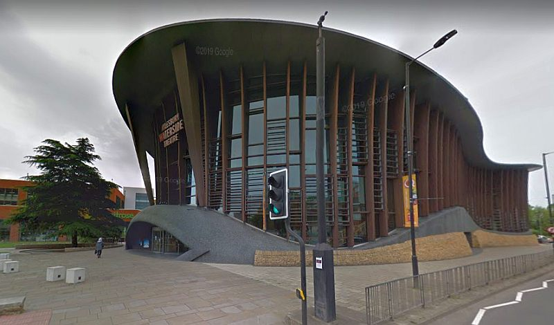 A Google StreetView Image of the Waterside Theatre, Aylesbury - Click to Interact.