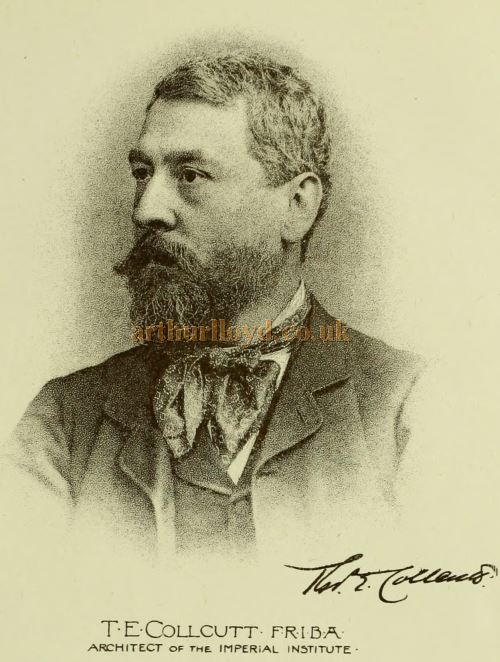 T. E. Collcutt - From the Building News and Engineering Journal, January 3rd 1890.