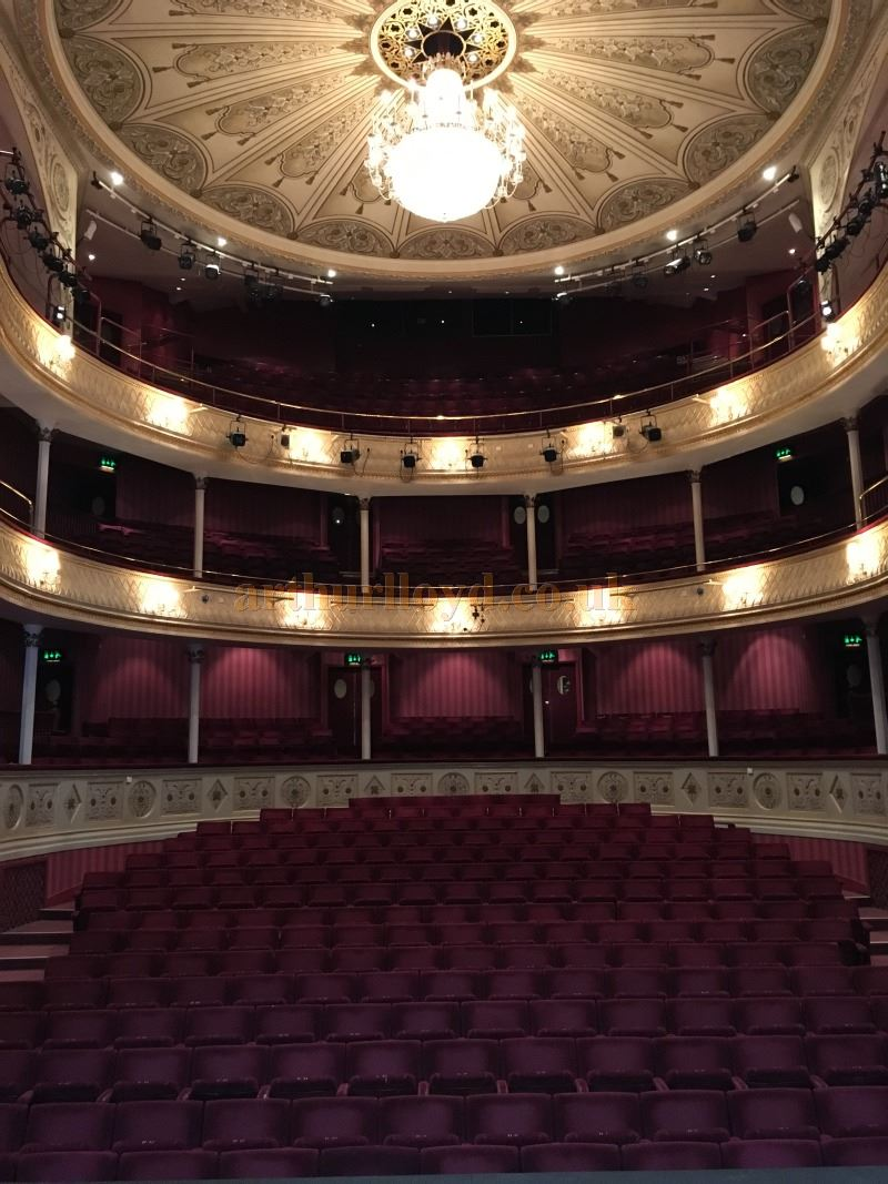 The Auditorium of the Theatre Royal, Bath in May 2016 - Courtesy Michael Shaw