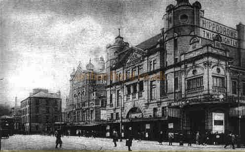 The Hippodrome, Belfast from a postcard.