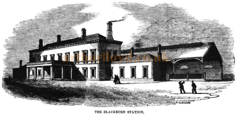 The Blackburn Station - From the Blackburn Standard, 14th of June 1848