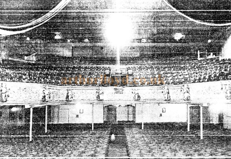 The Auditorium of the Grand Theatre - Courtesy Roy Cross and the Eccles Library