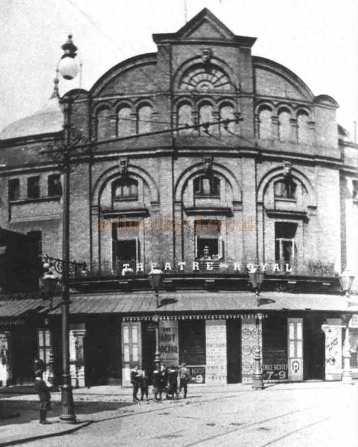The Theatre Royal, Blackburn - Image provided by the copyright holder for use in the Cotton Town digitisation project.