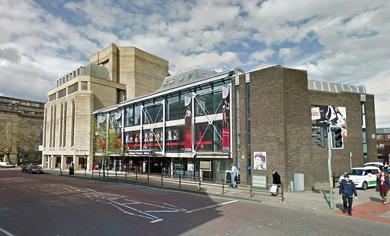 A Google SttreetView Image of the Octagon Theatre, Bolton - Click to Interact