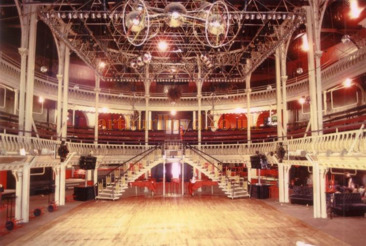 The Auditorium of the former Grand Pavilion Theatre in 1985 - Courtesy Ted Bottle