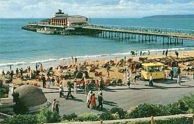 Bournemouth Pier - From a postcard 1960s