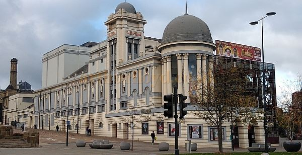 The Bradford Alhambra Theatre in October 2018 - Courtesy Philip Paine.