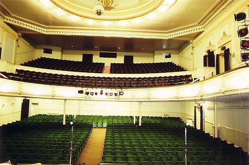 Auditorium of the Spa Theatre, Bridlington in 1990 - Courtesy Ted Bottle