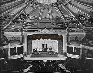 The auditorium of the Brighton Hippodrome - Click for details of this Theatre.
