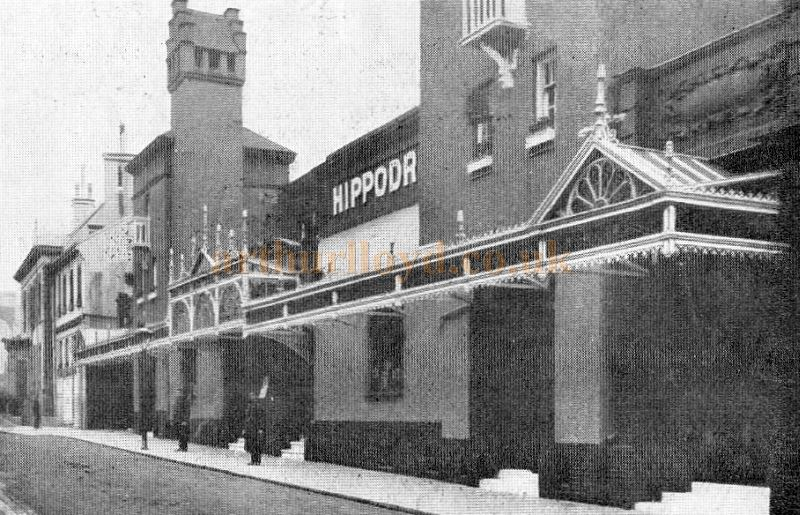 The Brighton Hippodrome from a 1910 Programme.