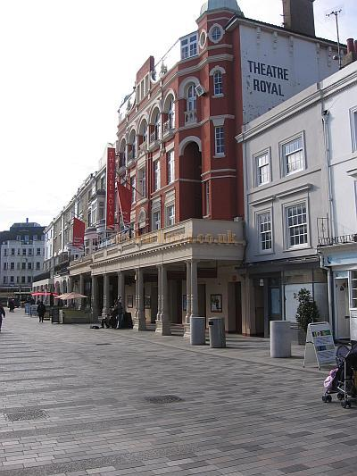 The Theatre Royal, Brighton in 2009 - Courtesy Stephen Ashby.