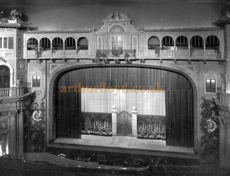 The auditorium and stage of the Astoria Brixton in 1929 - Courtesy Philip Dansie, whose father, Don Dansie, worked at the Theatre for over 50 years as Chief Engineer.