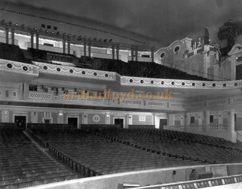 The auditorium of the Astoria Brixton in 1929 - Courtesy Philip Dansie, whose father, Don Dansie, worked at the Theatre for over 50 years as Chief Engineer.