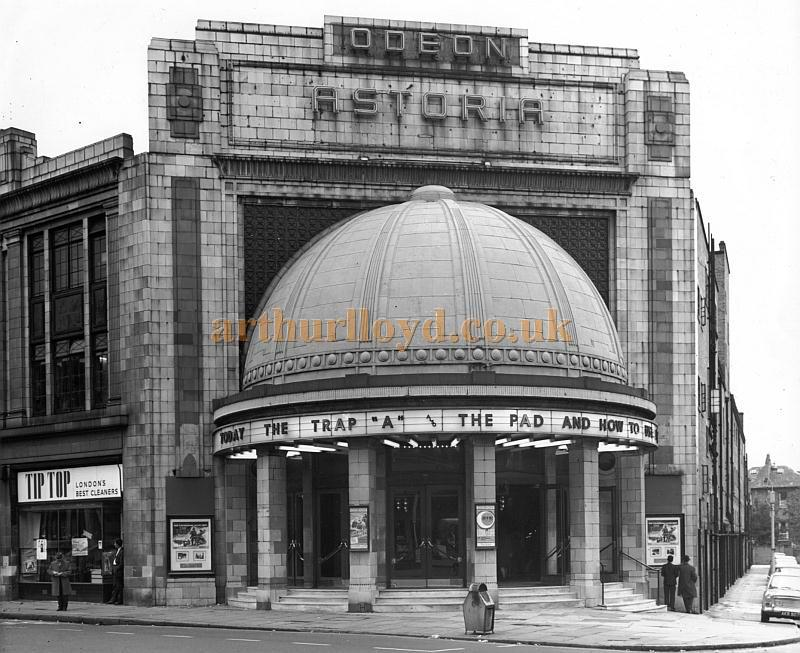 The Astoria, Brixton, whilst under the ownership of Odeon Cinemas in the 1950s - Courtesy Philip Dansie, whose father, Don Dansie, worked at the Theatre for over 50 years as Chief Engineer.