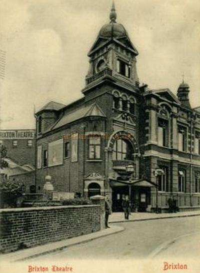 Postcard showing the Brixton Theatre, Brixton