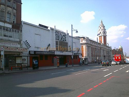 The Fridge Nightclub, Brixton Hill, formerly the ABC Cinema / Palladium Picture House, in 2008 - Photo M.L.