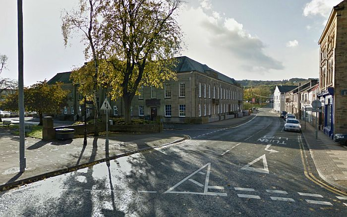A Google StreetView Image of the site of the former Gaiety Theatre, Burnley - Click to Interact