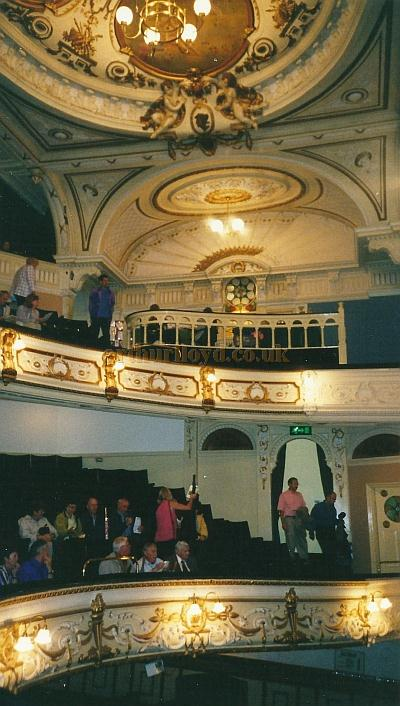 The auditorium of the Buxton Opera House in 2000, Courtesy David Garratt.