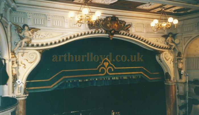 The Proscenium of the Buxton Opera House in 2000 - Courtesy David Garratt.