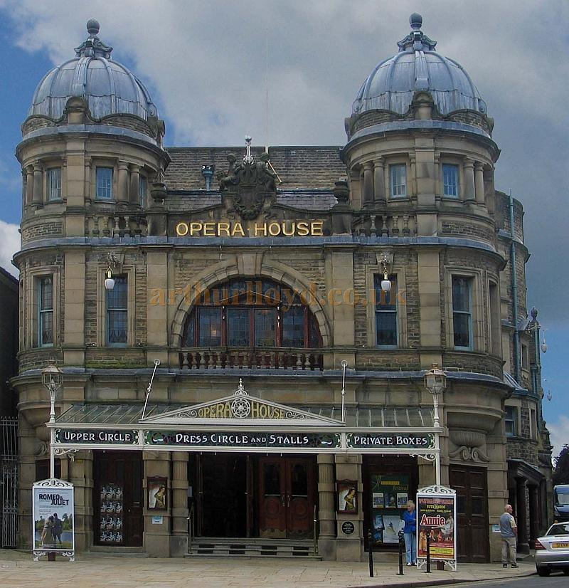 The Buxton Opera House main frontage in June 2007 - Courtesy Cliff Reynolds