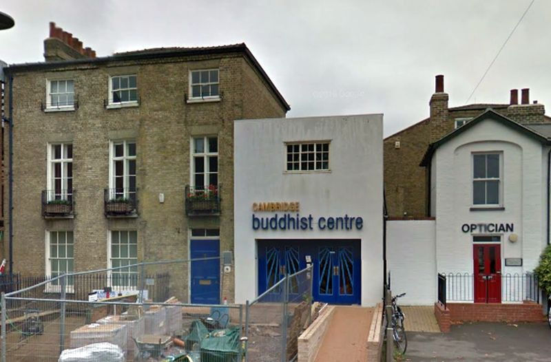 A Google StreetView Image of the former Festival Theatre, Cambridge - Click to Interact
