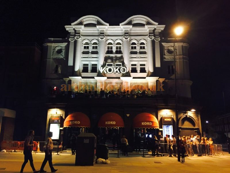 The former Camden Theatre, today known as Koko - Courtesy Tim Hamper.