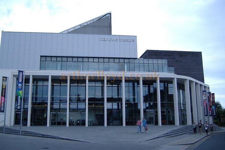 The new Marlowe Theatre in August 2012 - Courtesy Maria McArdle