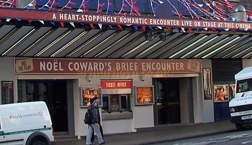 Noel Coward's 'Brief Encounter' live at the Former Carlton Theatre, Haymarket in February 2008 - Photo M.L.