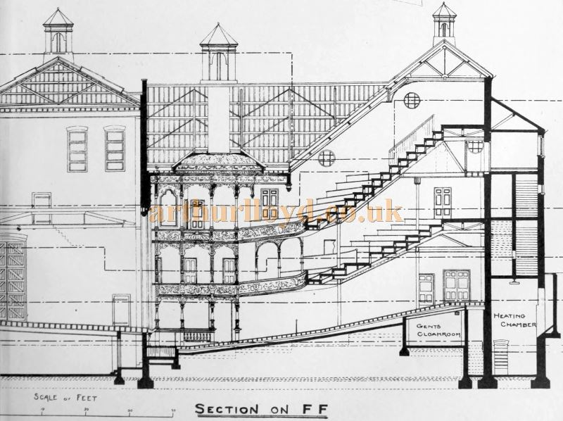 A Section Plan of the Theatre Royal, Chatham - From the Building News and Engineering Journal, November 25th 1898.