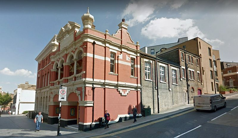 A Google StreetView Image of the former Theatre Royal, Chatham - Click to Interact.