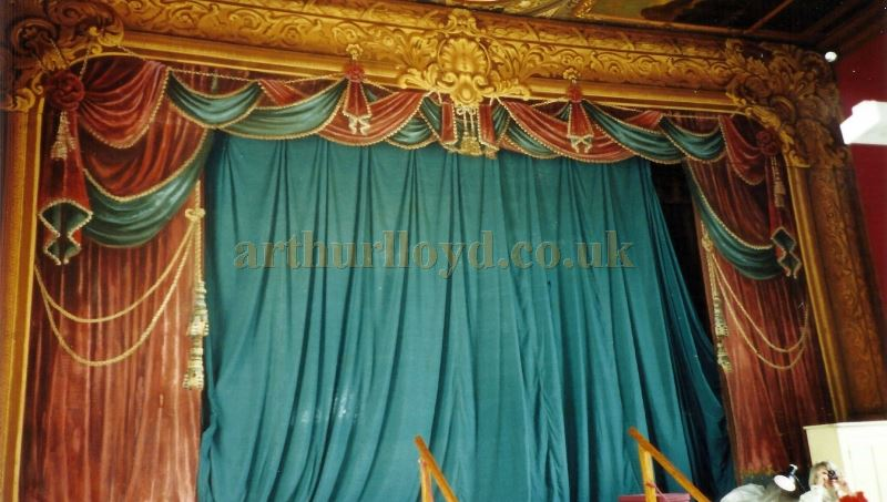 The Proscenium and Stage of the Chatsworth House Theatre - Courtesy David Garratt