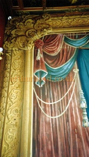 The Proscenium Arch at the Chatsworth House Theatre - Courtesy David Garratt.