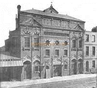 The Opera House, Cheltenham, 1891 - Courtesy Derek Aldridge, Marketing Manager of the Everyman, and Les Osman.
