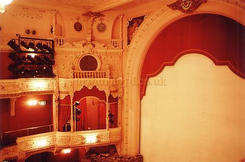 The auditorium of the Everyman, Cheltenham in 1988 - Courtesy Ted Bottle