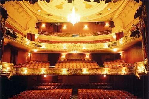 The auditorium of the Everyman, Cheltenham in 1988 - Courtesy Ted Bottle.