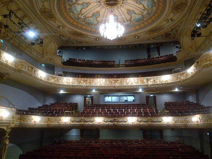 The auditorium of the Everyman Theatre, Cheltenham in October 2011 - Courtesy Tim Speechley