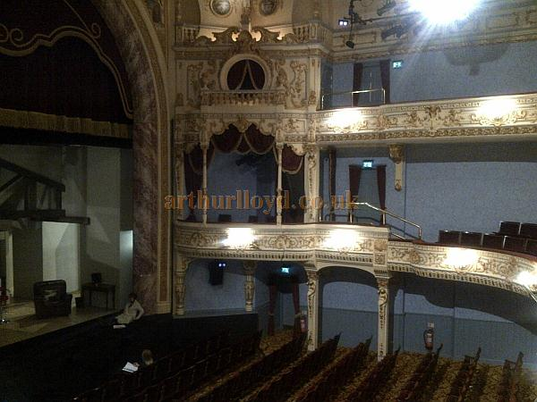 The auditorium of the Everyman Theatre, Cheltenham in October 2011 - Courtesy Tim Speechley.