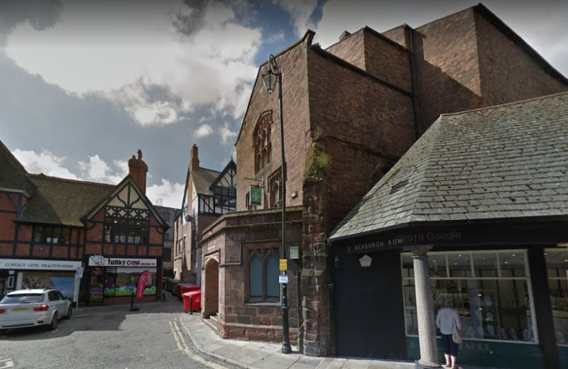 A Google StreetView Image of the former Theatre Royal, Chester - Click to Interact.
