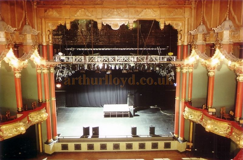 The Auditorium of the Grand, Clapham in 1992 - Courtesy Ted Bottle.