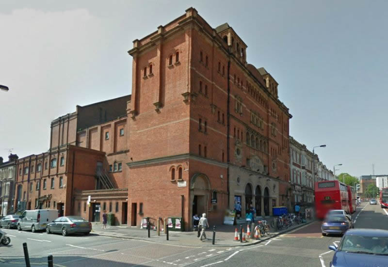 A Google StreetView Image of the Clapham Grand - Click to Interact